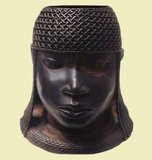 Head of an oba, Edo bronze sculpture from the court of Benin, Nigeria, 16th century. The Benin Empire (1440–1897) was a pre-colonial African state in what is now modern Nigeria. It is not to be confused with the modern-day country called Benin (and formerly called Dahomey).