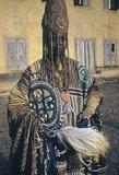 Oba Ademuwagun Adesida II, the Deji (ruler) of Akure (1950s).